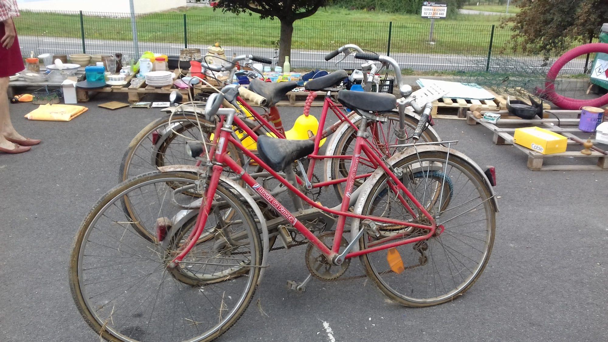 Don : des vélos destinés à la ferrailles